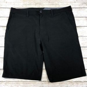 Volcom Surf & Turf 4 Way Stretch Black 40 Shorts